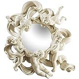 Design Toscano Cherub's Playful Dance Petite Wall Mirror