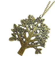 Young & Forever Old Wise Tree Of Life Necklace For Women By CrazeeMania