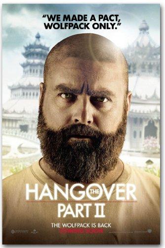 Zach Galifianakis - Hangover poster