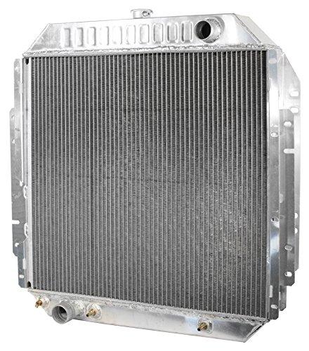 All Aluminum Racing Radiator In Stock Fast Free Shipping 75-77 Ford F-350 Truck V8 5.8L 5.9L 6.4L 7.5L 8CYL Lifetime Warranty Brand New