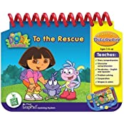Leap Frog My First Leap Pad Educational Book: Dora The Explorer To The Rescue Model: 20027, Toys & Games For Kids...