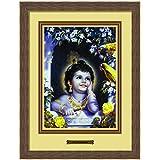 Elegant Arts & Frames Murali Krishna Multicolour Print 14 X 19 Photo Frame