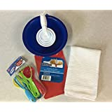 Toy Kitchen Utensil Set Tools For Little Chef Mix & Measure Pretend Play (19 Piece)