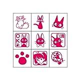 Studio Ghibli Kiki's Delivery Service Mini Rubber Stamp Set (x9 Stamps)
