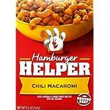 Hamburger Helper Chili Macaroni Pasta & Sauce Mix 5.2 Oz (Pack Of 12)