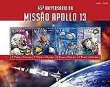 St Thomas - 2015 Apollo 13 - 4 Stamp Sheet - ST15316a
