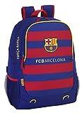 Safta FC Barcelona Mochila Adaptable, 32 x 44 x 16 cm, Color Azul Marino
