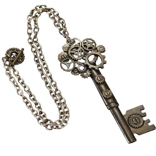 Steampunk Large Key Necklace