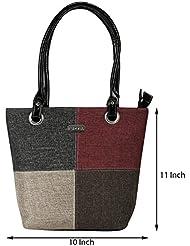 Hand Bags::Zipper Hand Bags::Maroon Shoulder Bags::PU Shoulder Bags::Plain Shoulder Bags::Kacey::Multicolor Shoulder... - B01I6VLLXO