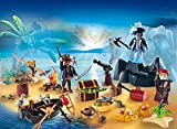 PLAYMOBIL 6625 - Mysterious Pirate Treasure Island - Advent Calendar