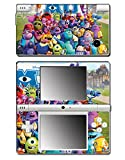 Monsters Inc University Mike Sulley Video Game Vinyl Decal Skin Sticker Cover for Nintendo DSi System