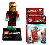 Super Heros Avengers Minifigure Building Blocks Bricks Assembly Toy 8pcs Not Lego