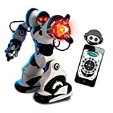 PowerLead Robotmaster Interactive Programmable RC Robot Infrared Remote Controlled Robot with Intelligent Walking Running Remote Control Robot