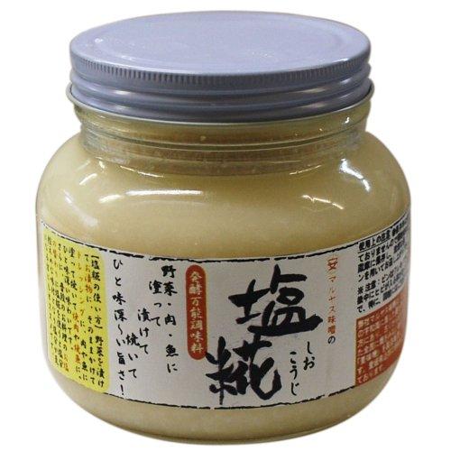 マルヤス味噌 塩こうじ (無農薬愛媛県産コシヒカリ) 500g