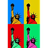 Seven Rays Seven Rays Statue Of Liberty Pop Art (12 X 18) Small Poster