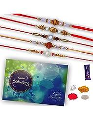 Cadbury Celebration Pack With Set Of 05 Premium Rakhis