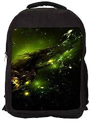Snoogg Cute Inface Smile Backpack Rucksack School Travel Unisex Casual Canvas Bag Bookbag Satchel