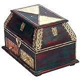 NRE Wooden Box (Multi Color, 25.4 Cm X 15.24 Cm X 20.32 Cm)
