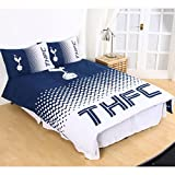 Tottenham FC Fade Double Duvet Cover and Pillowcase Set