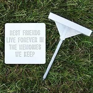 "Amazon.com : Pet Memory Stones, Memorial Headstone, ""Best"