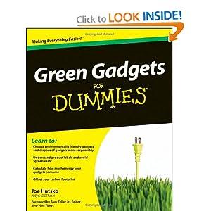 Green Gadgets For Dummies Joe Hutsko, Tom Zeller
