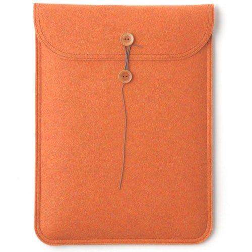 ハンドメイドフェルトケース MacBook Air11インチ用 オレンジ