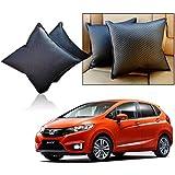 Car Vastra Cushion Pillow Set Black Color For Car & Home For - Honda Jazz 2015