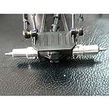 Hot Racing MCC2208 Aluminum Rear Axle Lock-Out Kit - Losi Micro Crawler