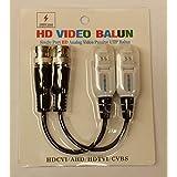 30xHD 720P 1080P CVI TVI AHD Video Balun Coax BNC To UTP CAT5 For HD CCTV Camera