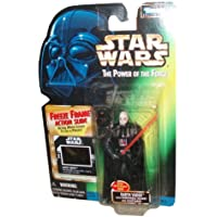 Star Wars Year 1997 The Power Of The Force 4 Inch Tall Action Figure - DARTH VADER With Detachable Hand, Removable...