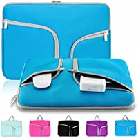 """Kitron-Neoprene Soft Sleeve Case For MacBook 12-inch & MacBook Air 11.6"""" And Laptop Up To 12"""" Ultrabook, Chromebook..."""