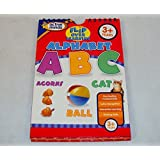 Flip Over Learning Alphabet - Active Minds Flash Card Book For Parent And Child.