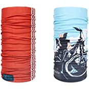Noise Classic Lines Red And Ride In Style Exquisite Bandana/Headwrap ( PACK OF 2 )
