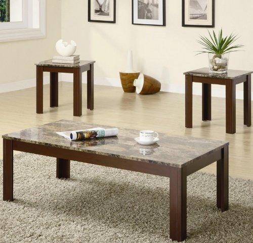 Coaster Fine Furniture 700395 3-Piece Coffee