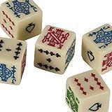 Bello Games Set Of 5 Poker Dice