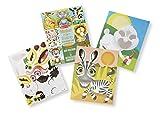 Melissa & Doug Make-a-Face Crazy Animals Sticker Pad