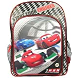 """Disney/pixar Cars """"Start Your Engines"""" Checkered Backpack"""