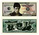 Al Pacino Scarface $Million Dollar$ Novelty Bill Collectible