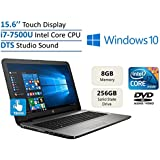 2017 New Edition HP 15.6'' HD Touchscreen High Performance Laptop PC, Intel 7th Gen Core I7-7500U 2.7GHz, 8GB...