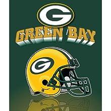 Northwest Green Bay Packers Gridiron Fleece Throw