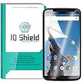 IQ Shield Tempered Glass - Google Nexus 6 Glass Screen Protector (Premium Ballistic Glass With Lifetime Warranty...