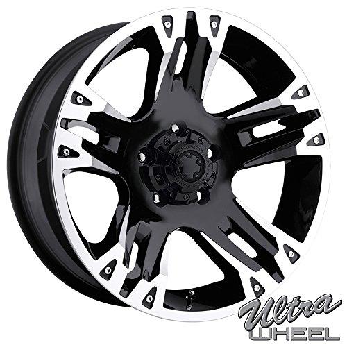 Ultra 235B Maverick 16×8 5×139.7 +10mm Gloss Black Wheel Rim