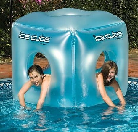 Ice Cube Inflatable Pool Habitat