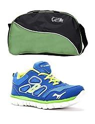 Elligator Shoes And Stylish Travel Bag - B00XJKHL3C