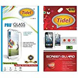 Tidel 0.3mm Tempered Glass Screen Guard Protector For Lenovo K3 Note With Tidel Ultra Clear HD Screen Guard