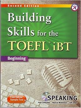 Building skills for the toefl ibt pdf