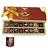Chocholik Belgium Chocolates - 16pc Perfect Combo Of Taste And Charm With Diwali Special Coffee Mug - Gifts For...