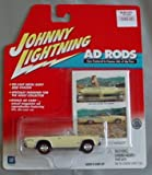 Johnny Lightning Ad Rods 1965 Pontiac GTO Convertible YELLOW