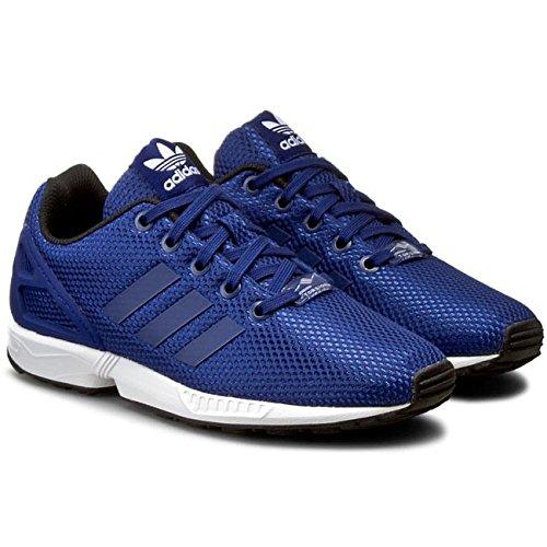 Scarpe Adidas Originals ZX Flux J s76282 Running Bambino Sneakers Mesh Blue