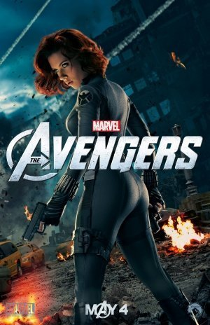 Black Widow Avengers poster